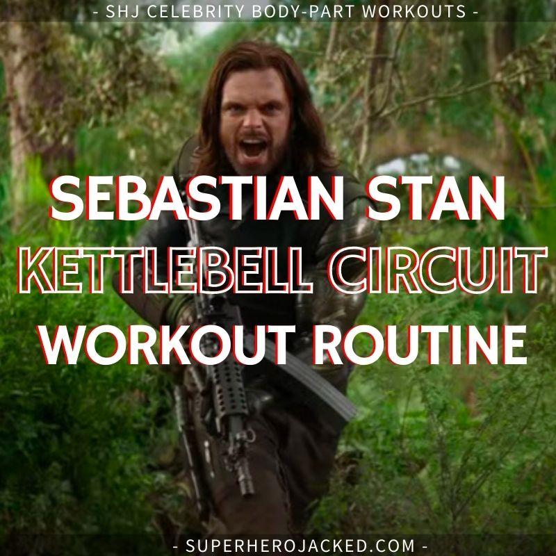 Sebastian Stan Kettlebell Circuit Workout