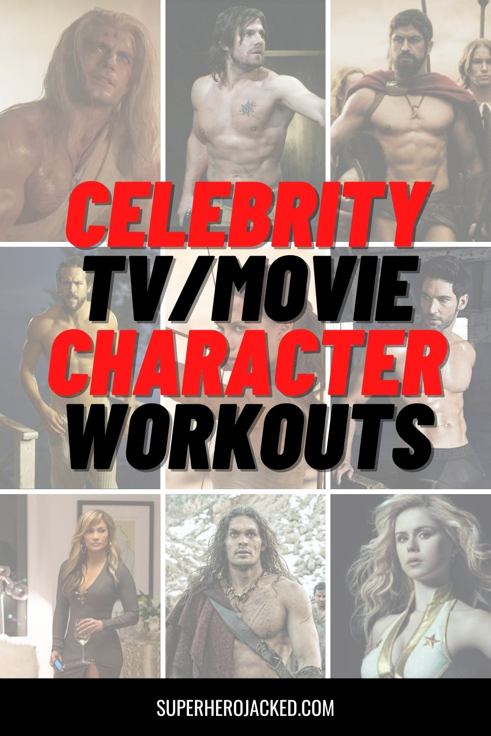 Celebrity Character Workouts