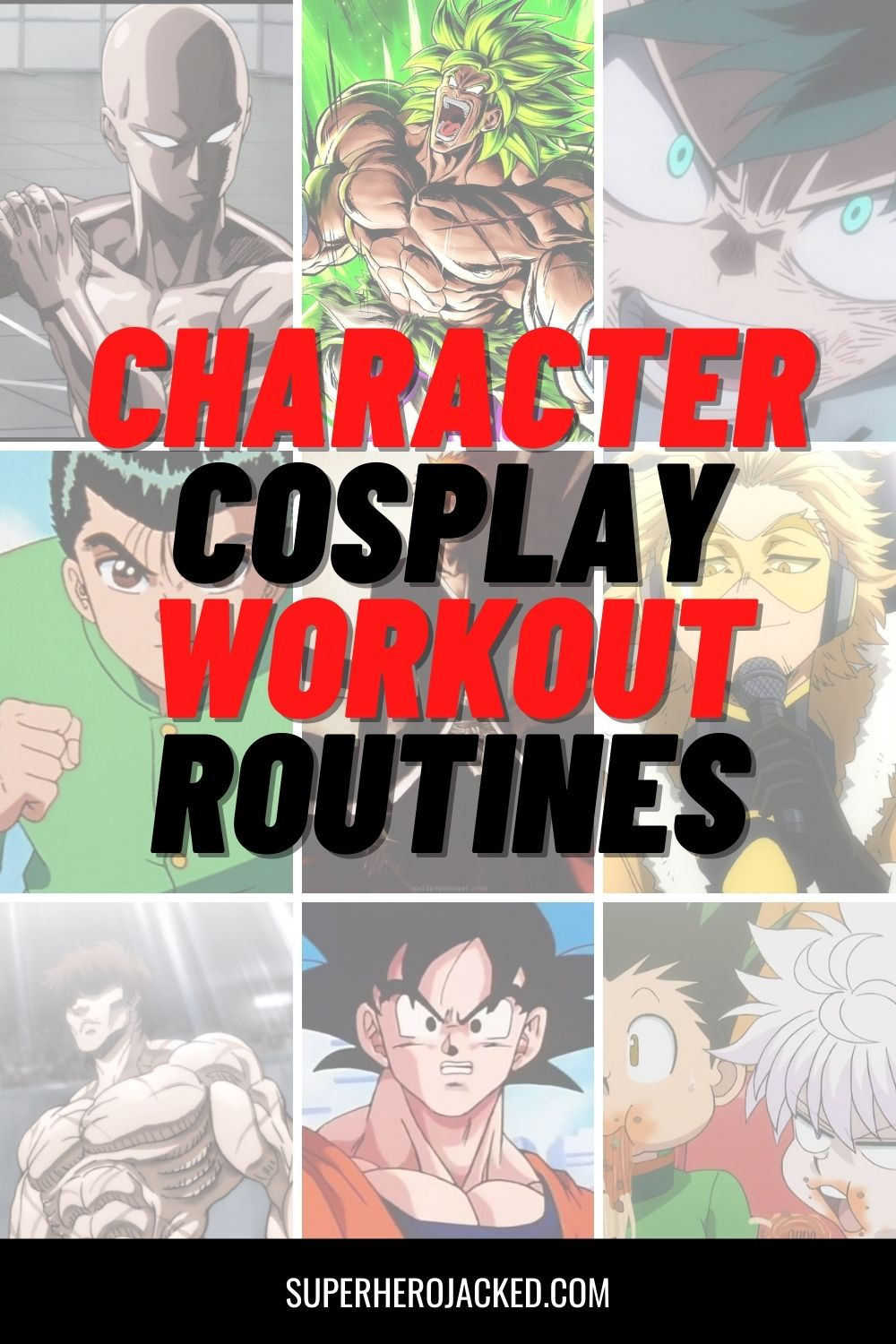 Character Cosplay Workouts