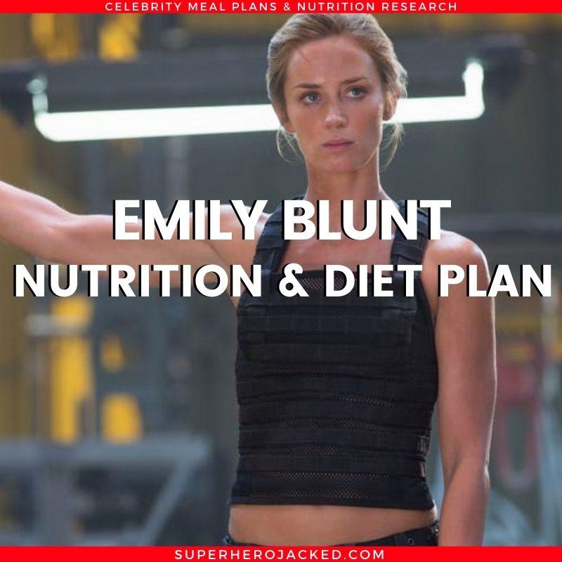 Emily Blunt Diet