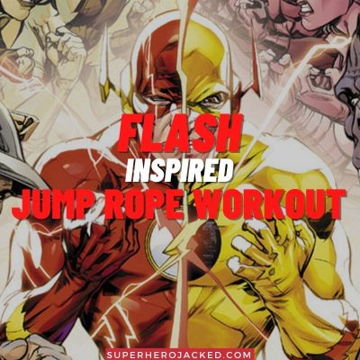 Flash Inspired Jump Rope Workout