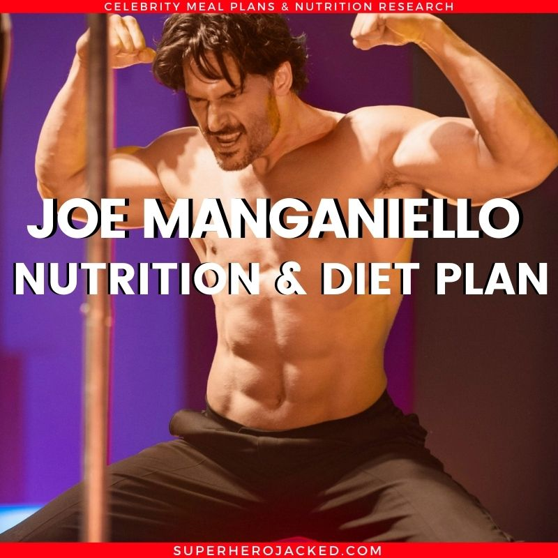 Joe Manganiello Diet