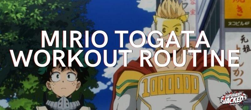 Mirio Togata Workout Routine