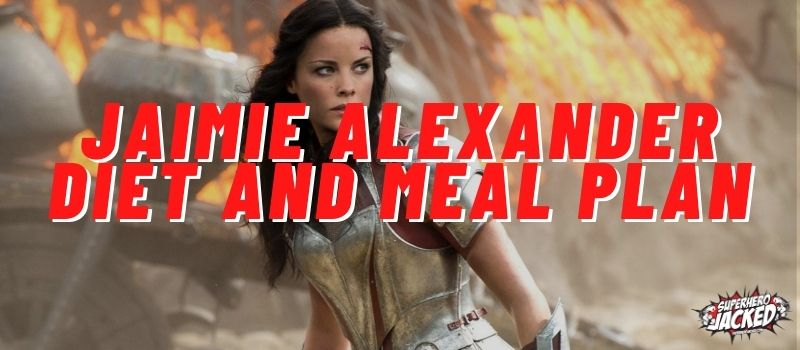 Jaimie Alexander Diet