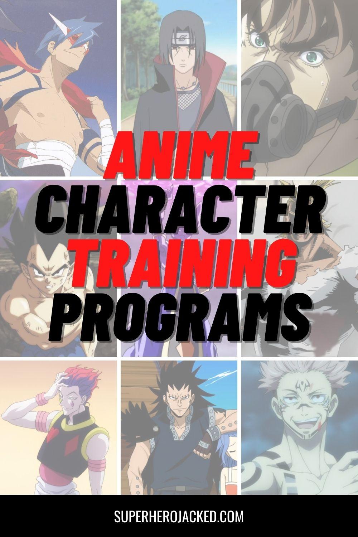 Anime Character Training Programs