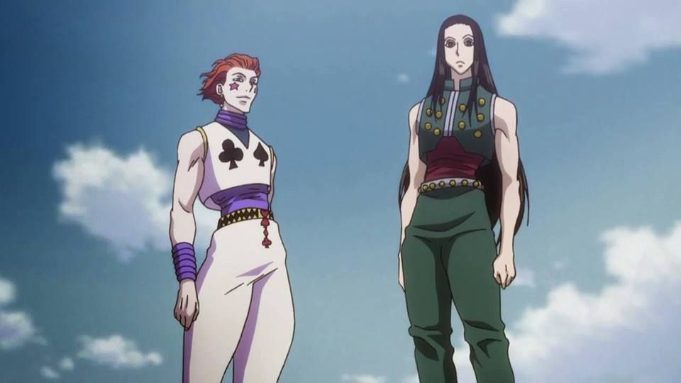 Hisoka Workout 2