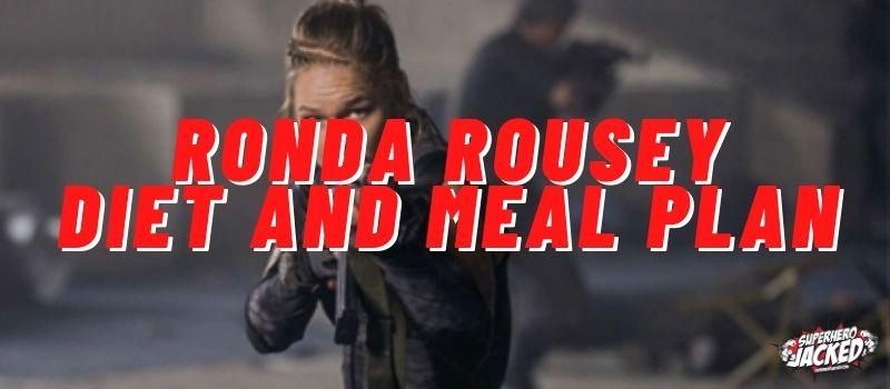 Ronda Rousey Diet