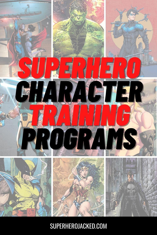 Superhero Character Training Programs