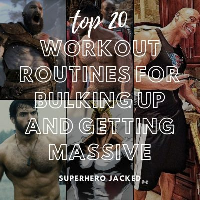 top 20 workouts for bulking up