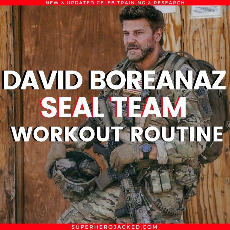 David Boreanaz Seal Team Workout