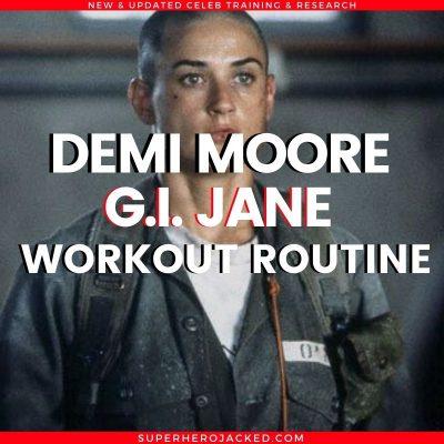 Demi Moore G.I. Jane Workout