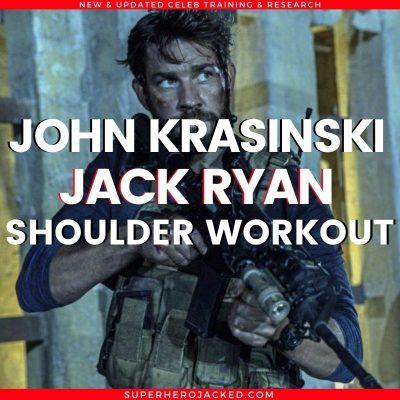 John Krasinski Jack Ryan Shoulder Workout