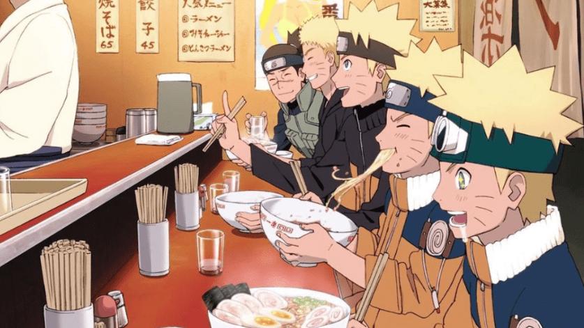 Naruto Eating Ramen