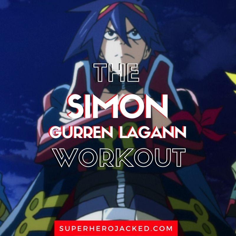 Simon Gurren Lagann Workout