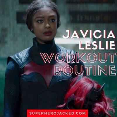 Javicia Leslie Workout (1)
