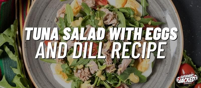 tuna salad with eggs & dill recipe
