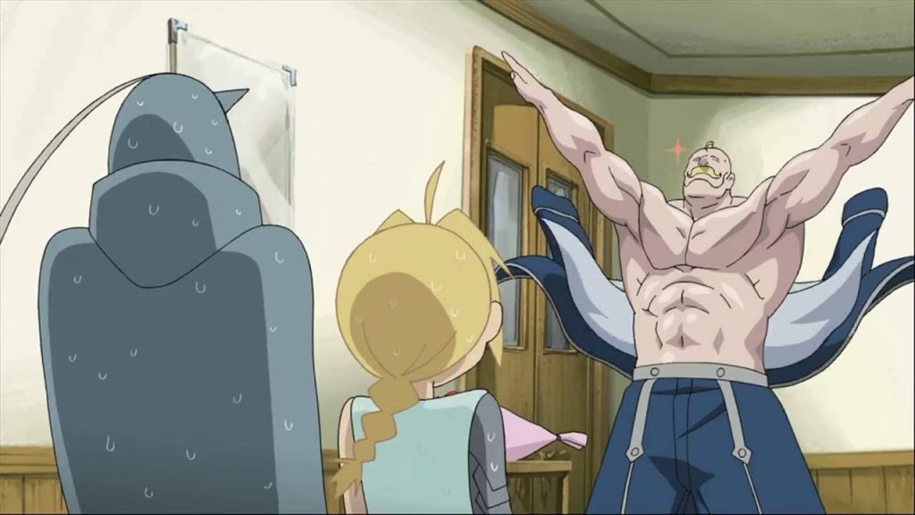 Armstrong Fullmetal Alchemist Workout