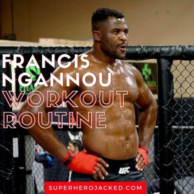 Francis Ngannou workout