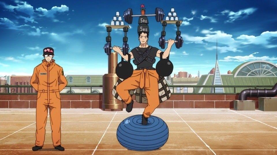 Captain Obi Workout 2