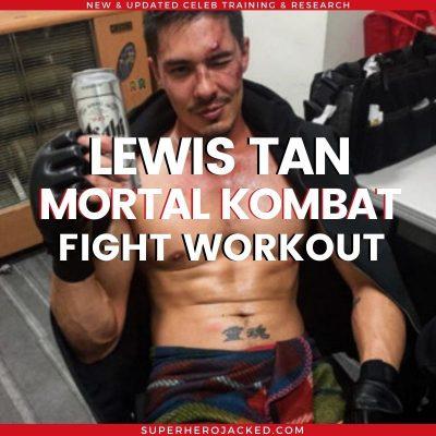 Lewis Tan Workout