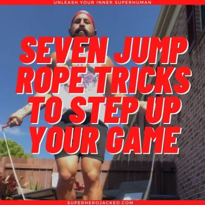 seven jump rope tricks to step up your game