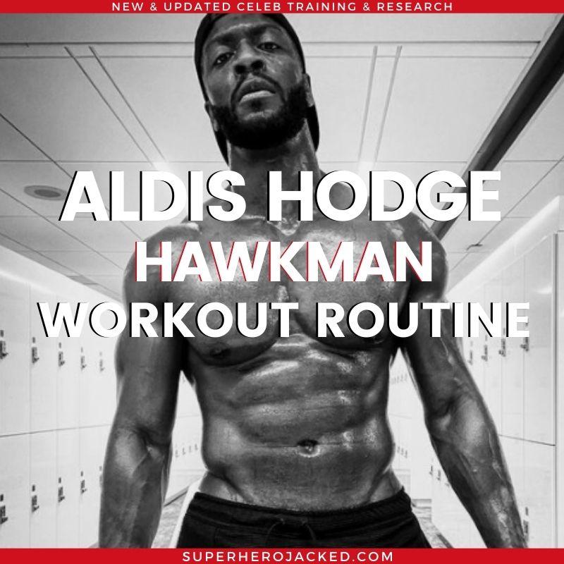 Aldis Hodge Workout