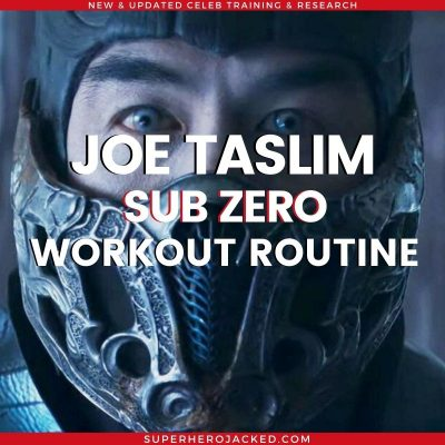 Joe Taslim Workout