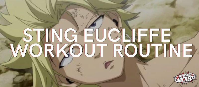 Sting Eucliffe Workout Routine