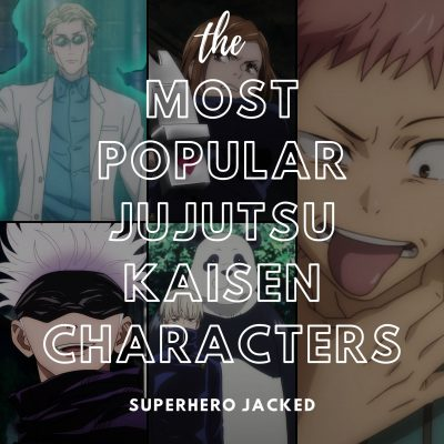 The Most Popular Jujutsu Kaisen Characters of All Time