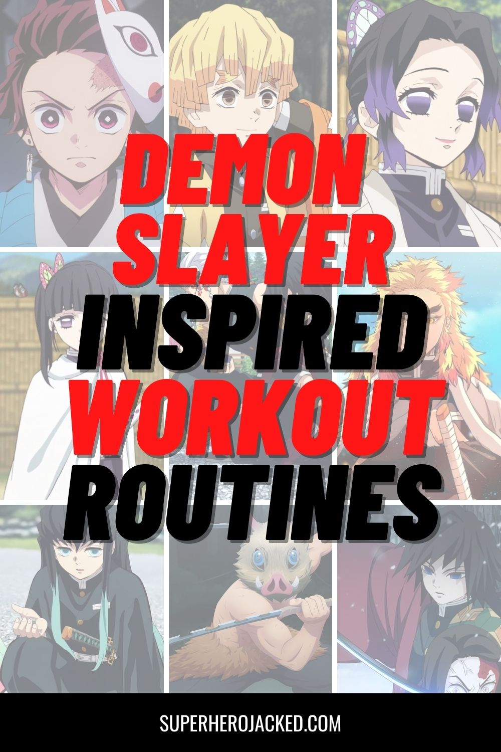 Demon Slayer Inspired Workout Routines