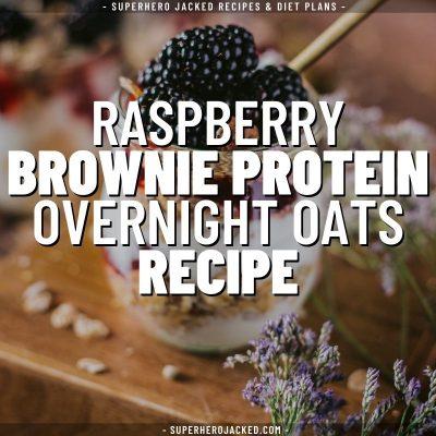 raspberry brownie protein overnight oats recipe (1)