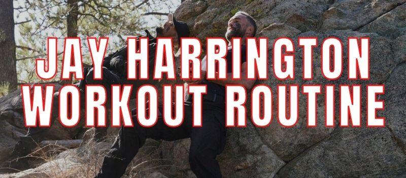 Jay Harrington Workout Routine
