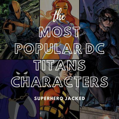 Most Popular DC Titans Characters
