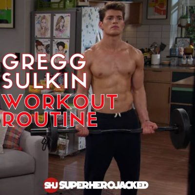 Gregg Sulkin Workout Routine