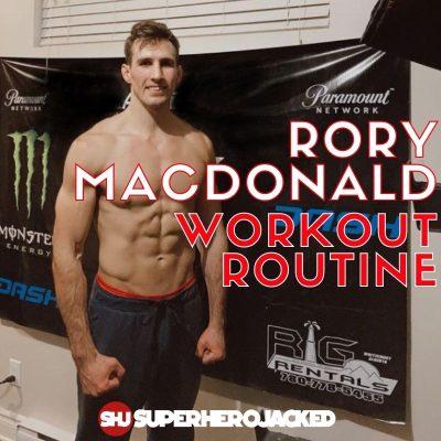 Rory Macdonald Workout Routine